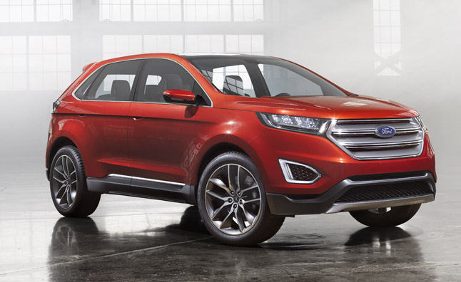 2015 ford edge concept first look video 2013 la auto show news. Black Bedroom Furniture Sets. Home Design Ideas