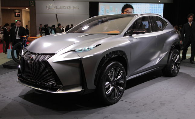 2014 lexus lf nx turbo concept first look video 2013 tokyo auto show news - Tokyo motor show 2014 ...