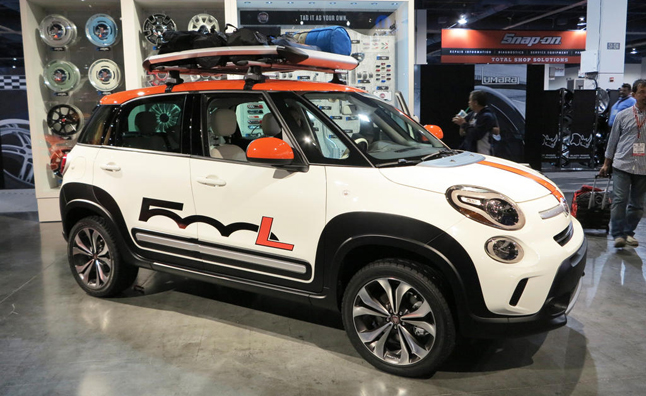 Fiat 500l Sema Concepts Prepped For Surf And Turf