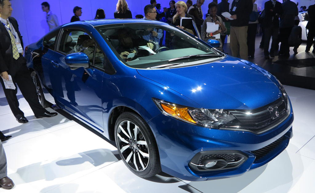 Honda Civic Sedan 2014 Blue