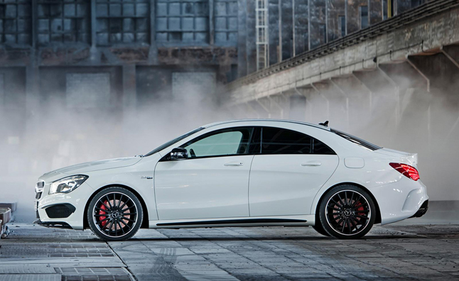 1. Mercedes Benz CLA 45 AMG U2013 4.2 Seconds