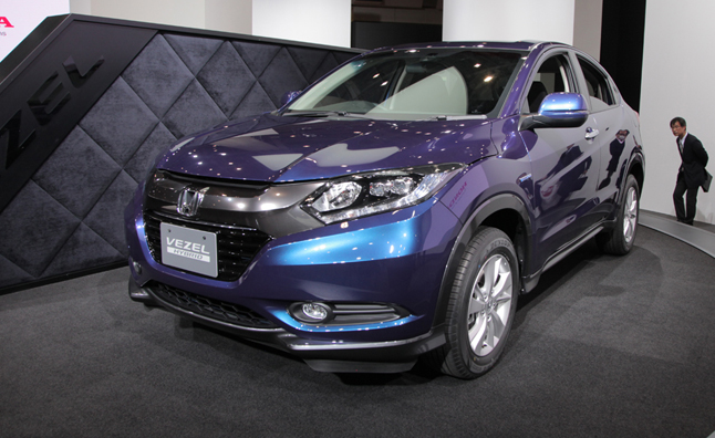 honda sporty compact crossover to go turbo for us news. Black Bedroom Furniture Sets. Home Design Ideas