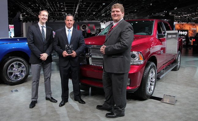 2014 autoguide truck of the year colum wood reid bigland steve elmer