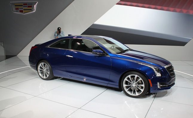 2015 Cadillac Ats Coupe Ditches Doors Gains Style