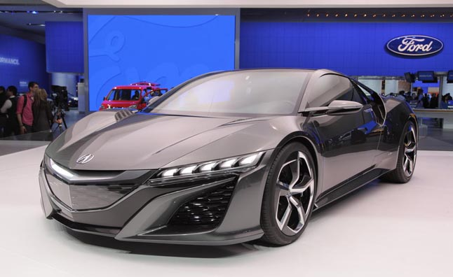 make your own acura nsx with a 3d printer news. Black Bedroom Furniture Sets. Home Design Ideas