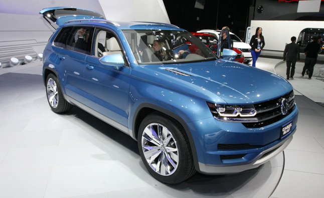 New Volkswagen Midsize Suv Heading To Us In 2016
