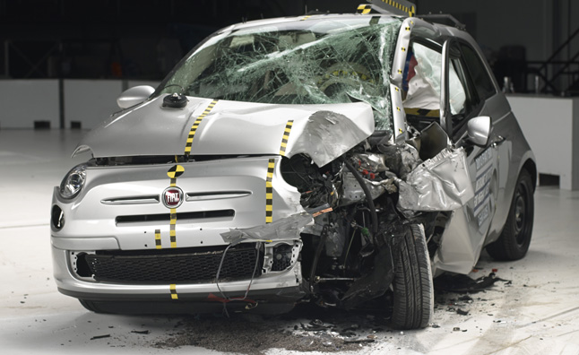 Best Place To Get A Loan >> City Cars Flunk IIHS Crash Test: Honda, Fiat Fare Worst ...