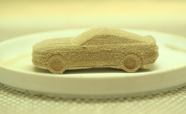 Able Auto Insurance >> 2015 Mustang 3D Printed in Chocolate » AutoGuide.com News
