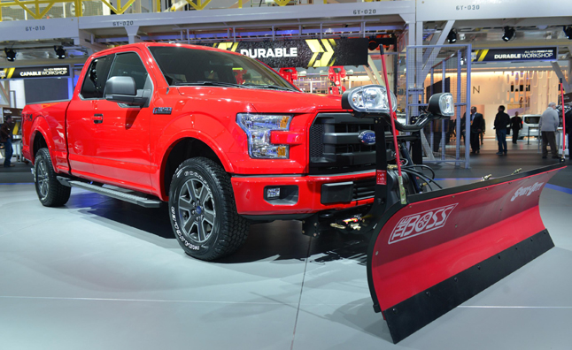 2015 Ford F-150 Offers Snow Plow Prep for all Cab Styles ...