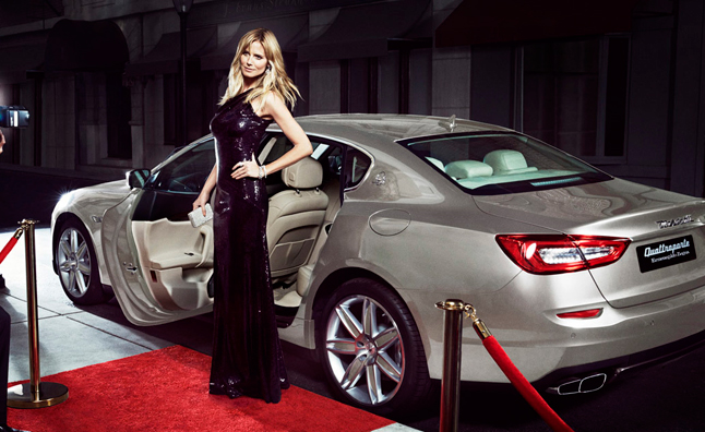 Maserati Heidi Klum Team Up For Sports Illustrated