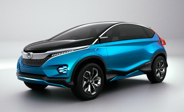 honda vision xs 1 concept previews the compact crossover of the future news. Black Bedroom Furniture Sets. Home Design Ideas
