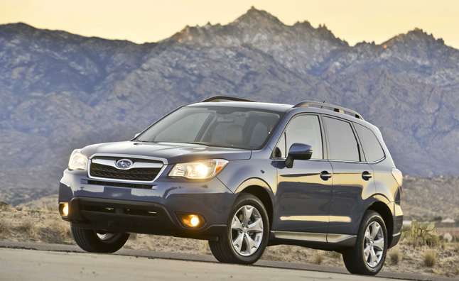 The 2015 Subaru Forester adopts new standard equipment for the 2015
