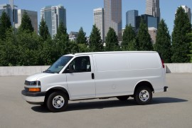 The 2013 Chevy Express.