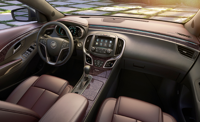 2014 buick lacrosse adds ultra luxury interior package. Black Bedroom Furniture Sets. Home Design Ideas