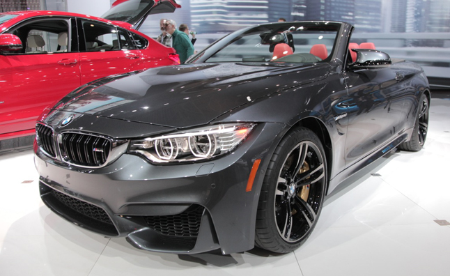 Take it all off bmw reveals drop top 2015 m4 convertible for Drop top mercedes benz