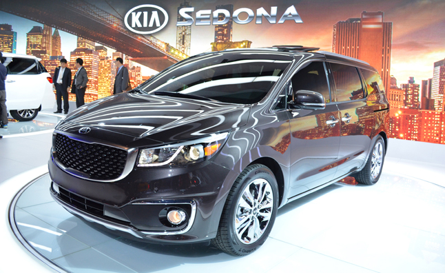 2015 kia sedona is the best looking minivan you 39 ve never heard of news. Black Bedroom Furniture Sets. Home Design Ideas