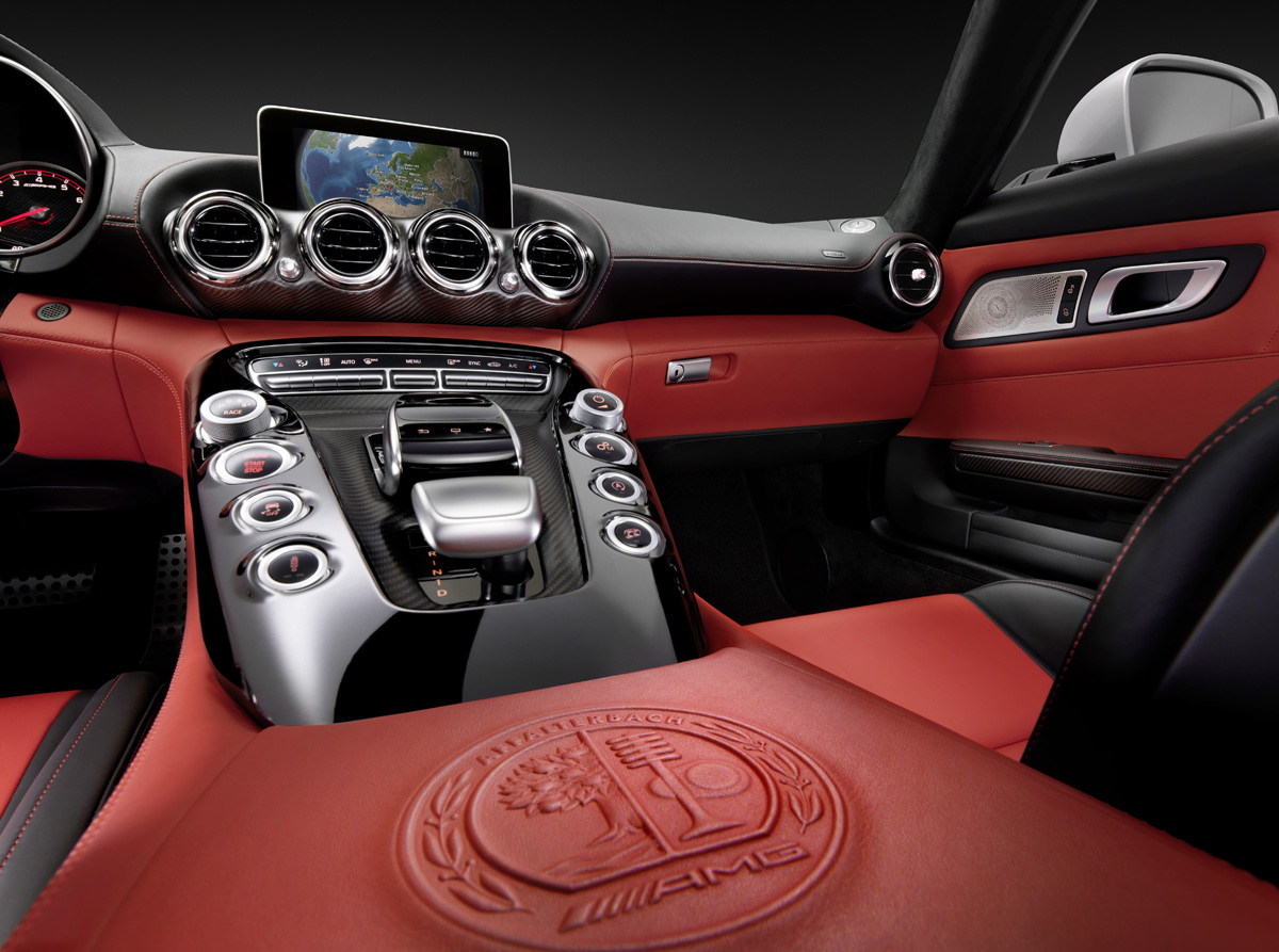 Mercedes AMG GT Cockpit Teased in NY » AutoGuide.com News | {Auto cockpit mercedes 3}