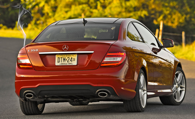 Tail lamp issue causing mercedes to recall nearly 253 000 for Recall on mercedes benz c300
