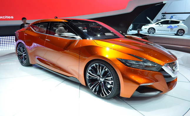 Next Maxima to Closely Resemble Sport Sedan Concept ...