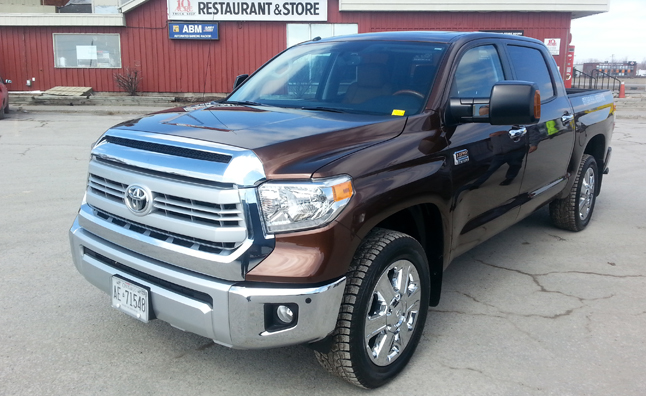 Toyota Tundra Diesel Undergoing Testing AutoGuide News