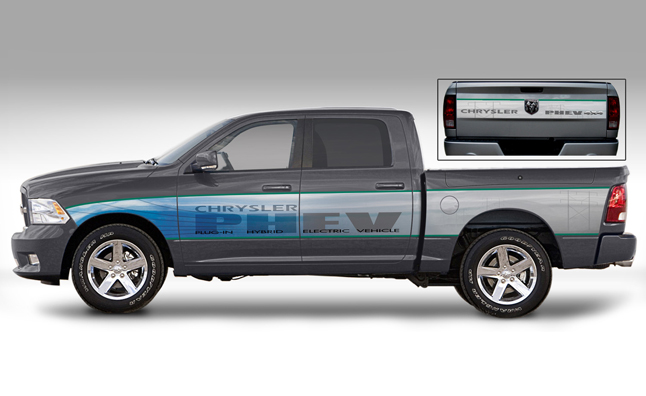 Chrysler phev truck