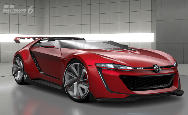 Vw gti roadster vision gran turismo heading to gt6 in june autoguide com news