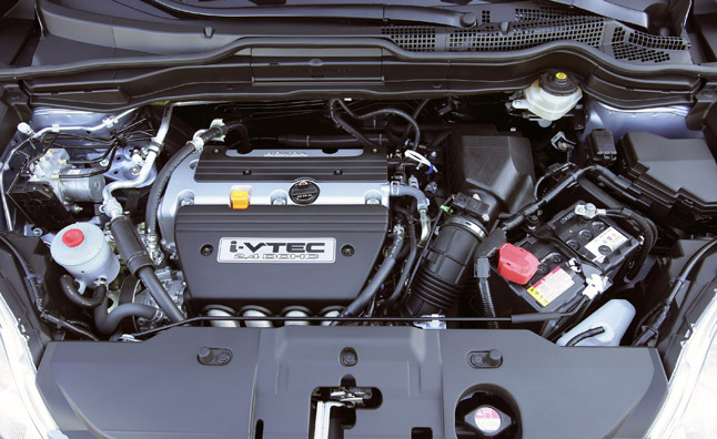 2008 Honda CR-V (EX-L with Navigation) - 2.4-liter i-VTEC engine