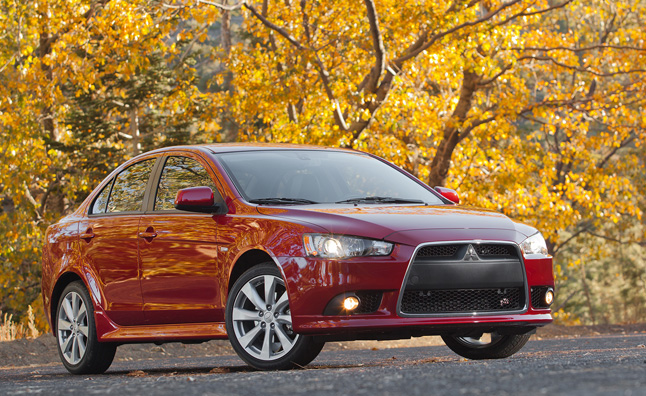 2015 mitsubishi lancer gets new standard features news. Black Bedroom Furniture Sets. Home Design Ideas