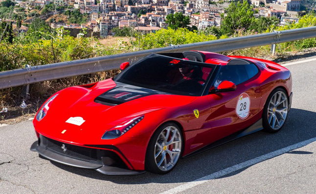 Ferrari F12 Trs Unveiled As Custom One Off Roadster