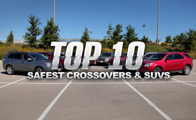 2014 Crossover Vehicles Top 10
