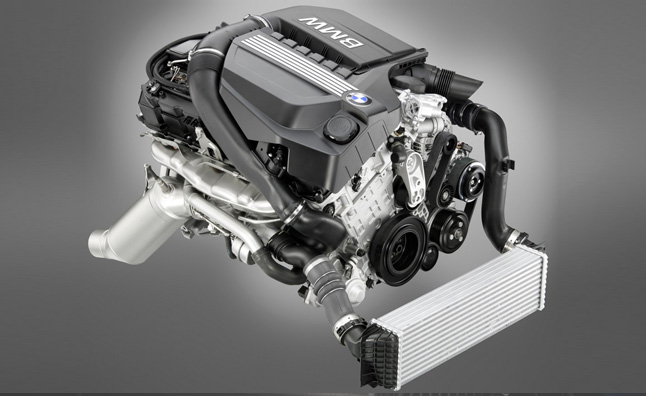 2014 BMW 335i Engine