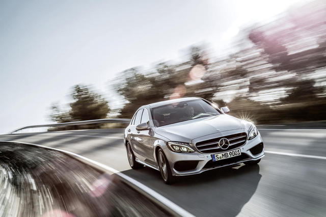 2015 mercedes c class priced from 39 325 mercedes benz for Mercedes benz ticker symbol