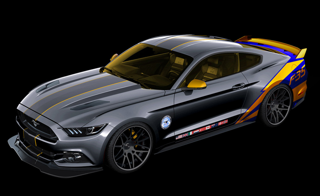 Ford building custom mustang f 35 for charity autoguide for How to buy a car from charity motors