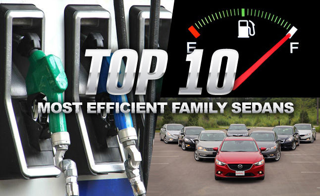 Top Most Fuel Efficient Non Hybrid Family Sedans Autoguide