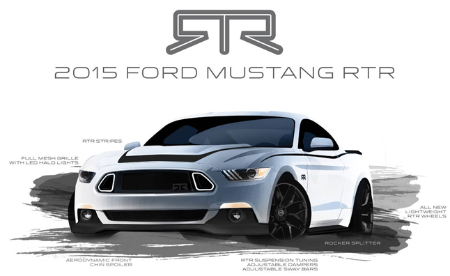 Ford Lightning Specs >> 2015 Ford Mustang RTR Previewed in New Sketches ...