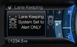 Ford's Lane Keeping System Will Be Available on 2013 Fusion