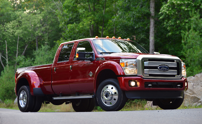 2014 Ford F150 Accessories >> Ford Super Duty Pickups to Shed Weight With Aluminum » AutoGuide.com News