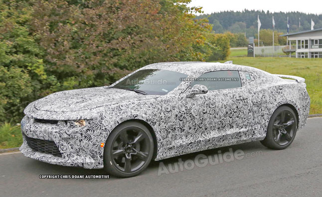 2016 6th Gen Camaro spotted at Nurburgring - CamaroNews.com