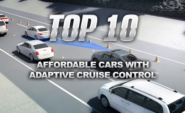 Top 10 Affordable Cars With Adaptive Cruise Control