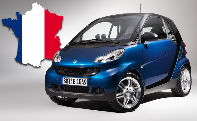 The Doorstep Of Germany S Other Neighbor One They Ve Had Numerous Property Disputes With Over Years Daimler Much Derided Smart Fortwo City Car