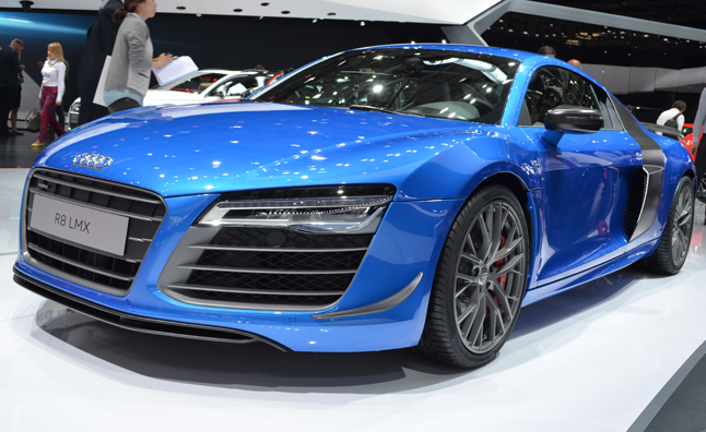 Audi R8 Lmx Gets More Power Laser Lights In Paris