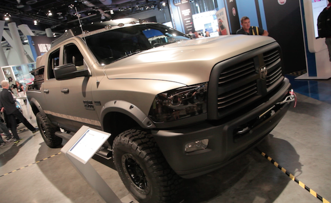 Fantastic Top 10 Trucks Of The 2014 SEMA Show  AutoGuidecom News