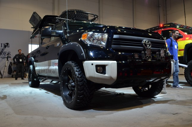 Toyota Brings Ultimate Tailgating Truck to SEMA ...