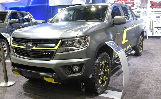 Lifted Chevy Colorado >> Chevy Colorado Shows its Lifestyle Side at SEMA ...