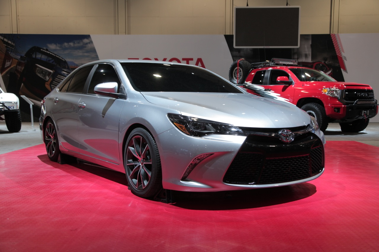 toyota camry body hides purpose built drag car news. Black Bedroom Furniture Sets. Home Design Ideas