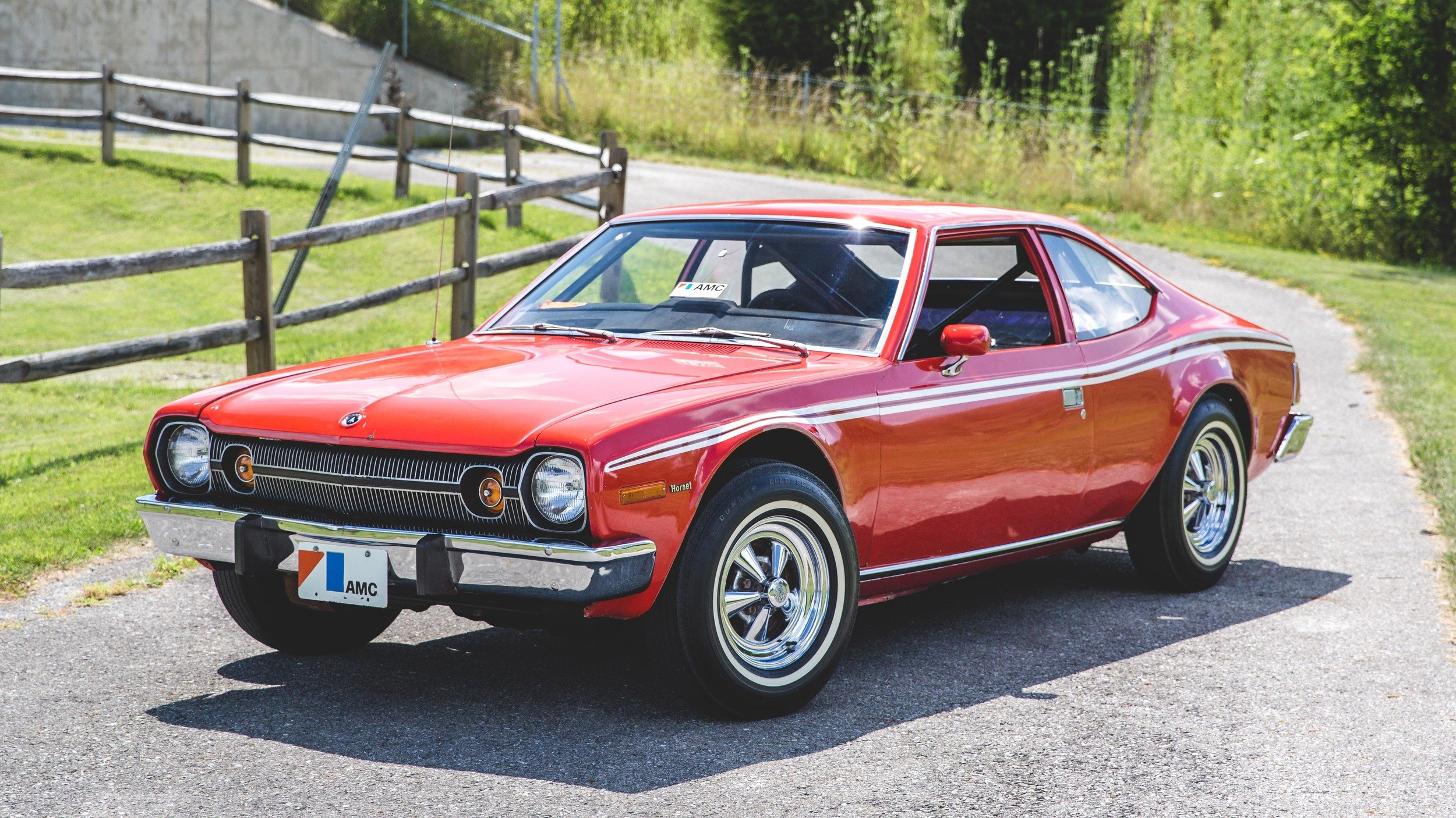 A 1974 Amc Hornet That Was Rolled By James Bond Is Heading