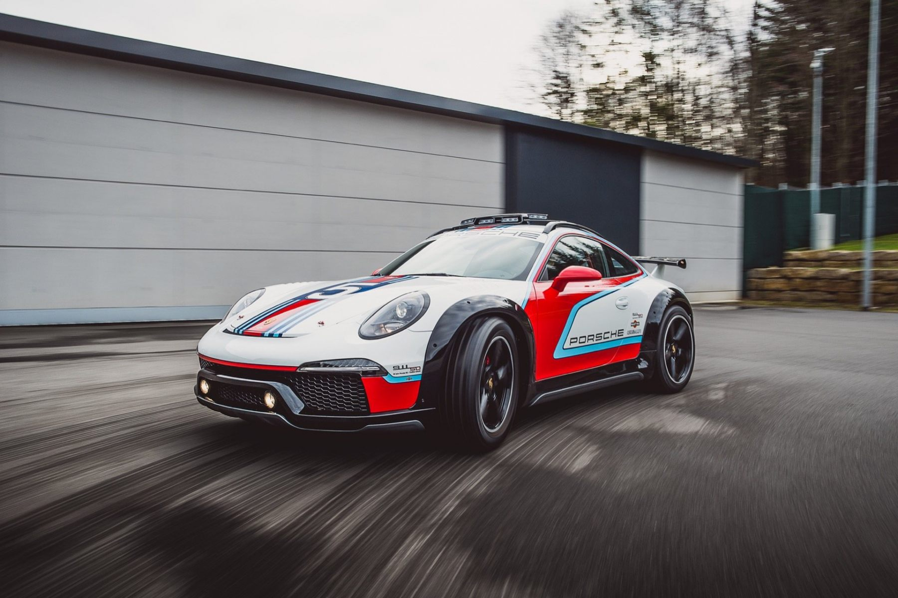 Porsche Shows Off Unseen Concept Cars From 919 Street To The Coolest Race Van Autoguide Com News