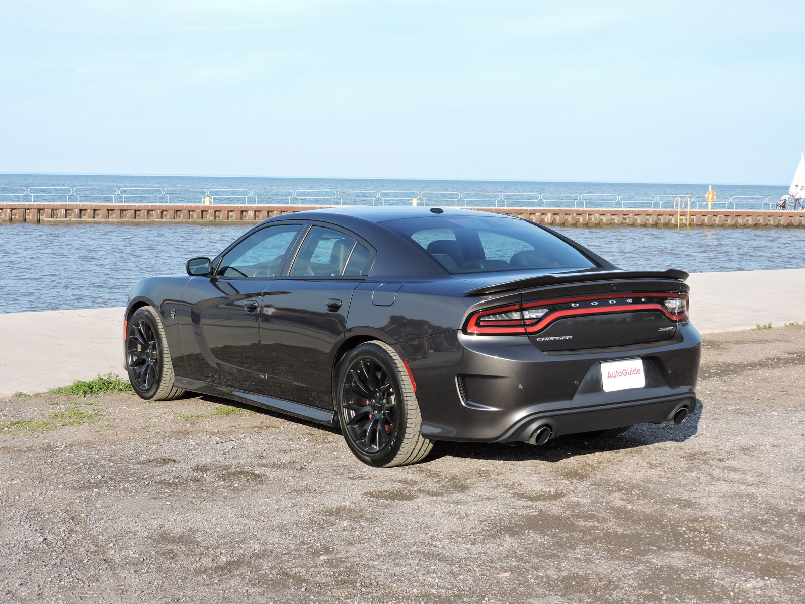 2015 Dodge Charger SRT cat is Baby's First Ride - AutoGuide.com
