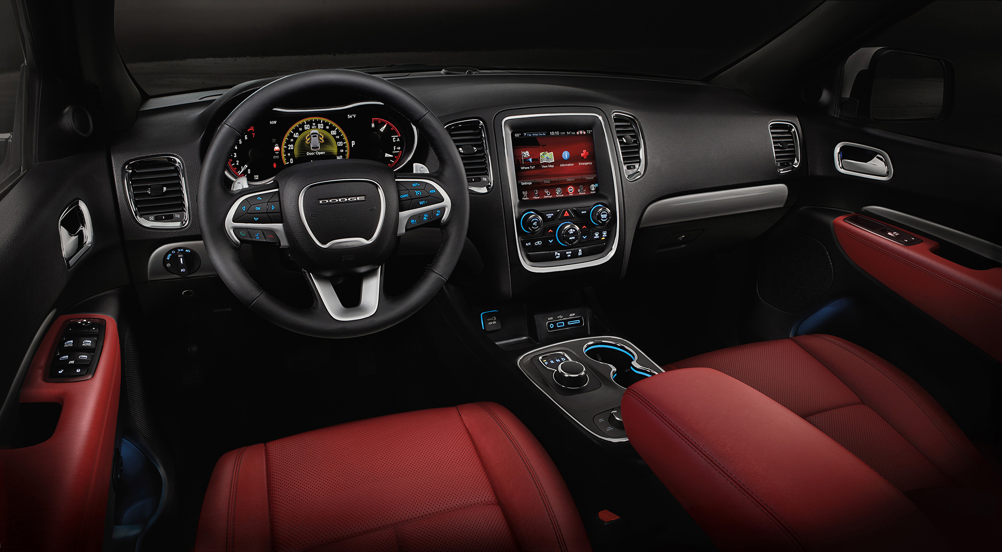 2015 Dodge Durango R T Adds Red Nappa Leather News