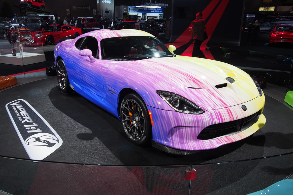 """Toyota Corolla Tires >> Dodge """"Colors Us"""" Surprised with Flamboyant Viper » AutoGuide.com News"""